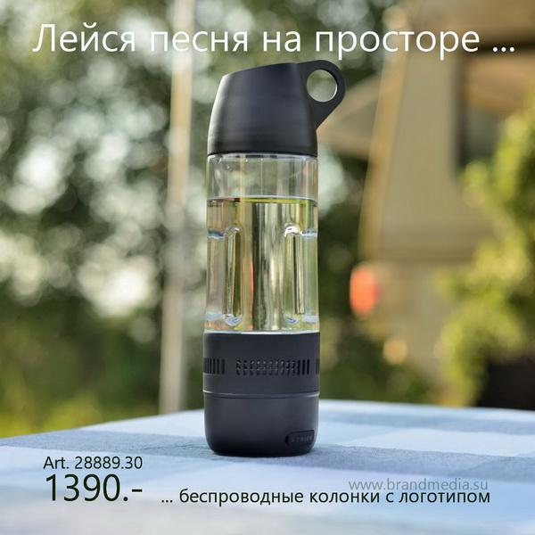 Купить в Москве портативные колонки с логотипом фирмы заказчика