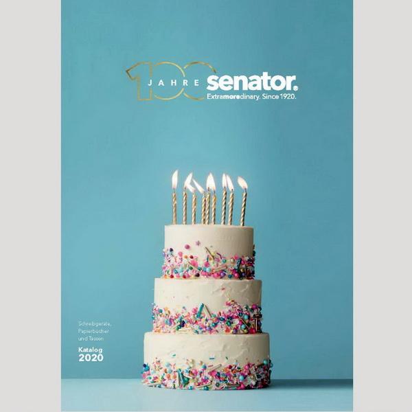 Каталог ручек и кружек Senator 2020