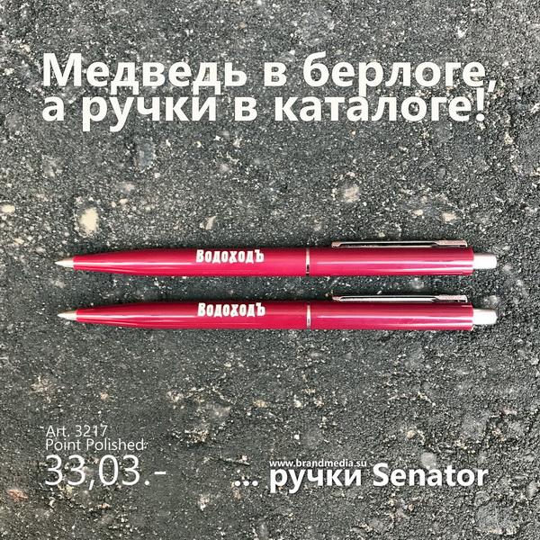 Шариковые ручки Senator Point Polished