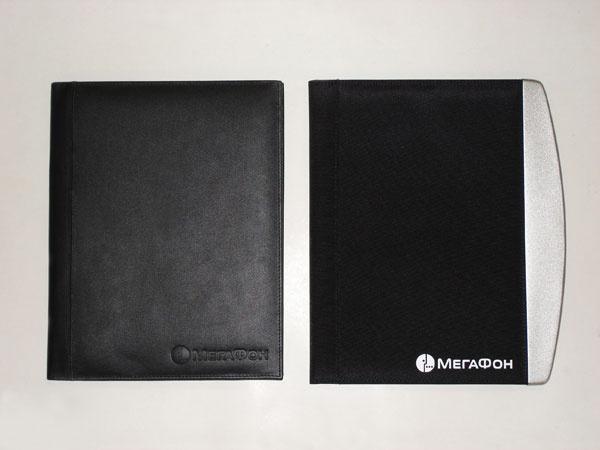 Фирменные папки и ежедневники с логотипом