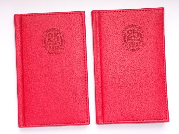 Записная книжка с конгревом логотипа