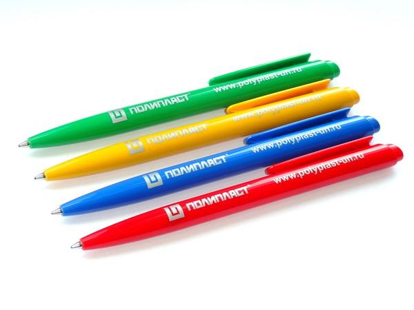 Цветные ручки шариковые ручки Dart Polished с логотипом Полипласт