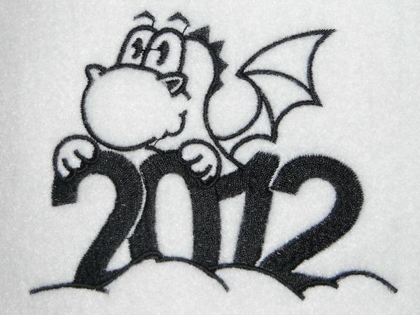 Вышивка - символ года