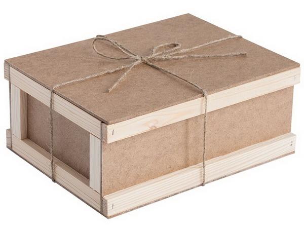 Подарочная упаковка - коробка почтовая.