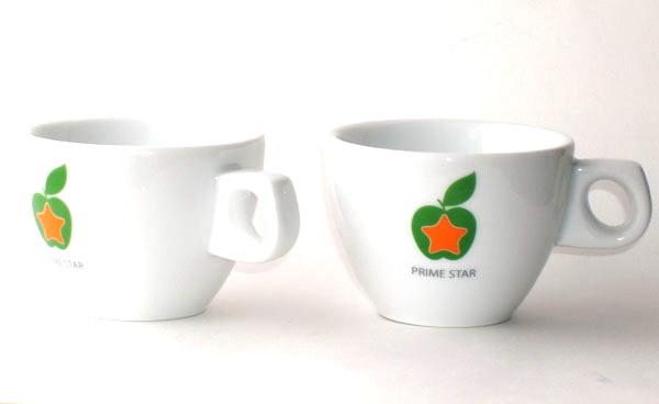 Чашки кофейные с логотипом Prime Star