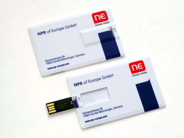 Флешки-кредитки usb для автомобильных компаний с логотипом производителя