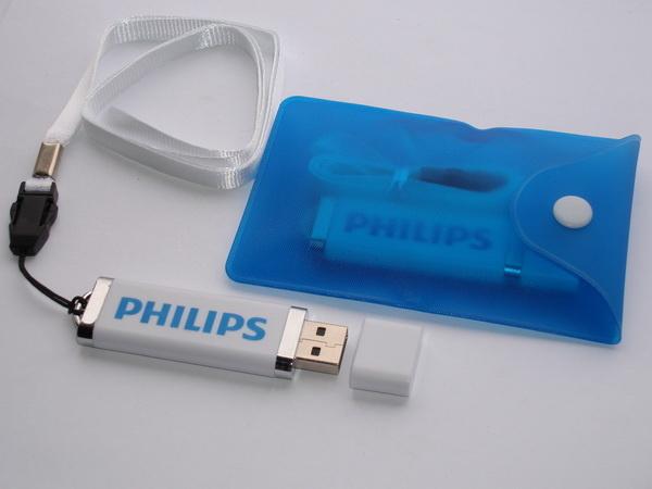 Флэшки с логотипом Philips