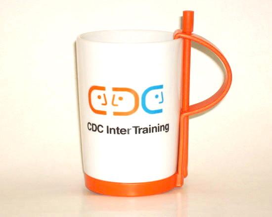 Кружки Rou Bill с логотипом CDC Inter Training