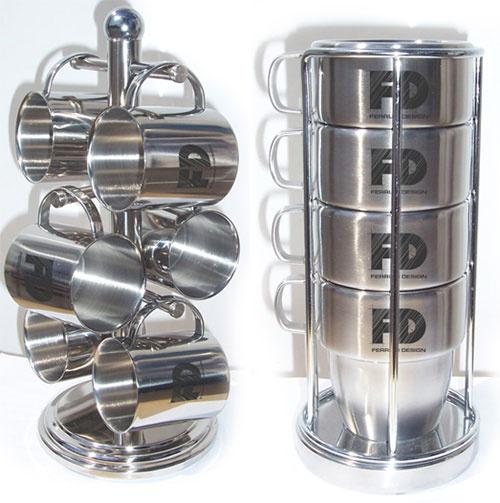 Кружки из нержавеющей стали с логотипом FD