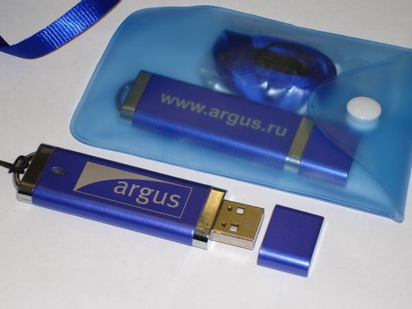 Флэшки с логотипом Argus