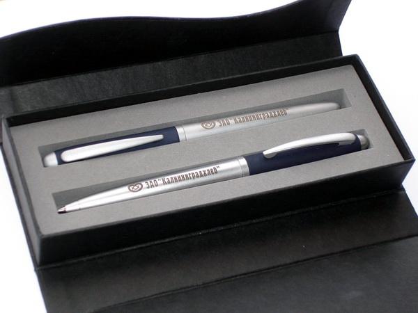 Подарочные наборы Senator с логотипом компании Калининградхлеб.