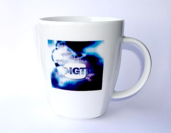 Кружки 350 мл с логотипом IGT