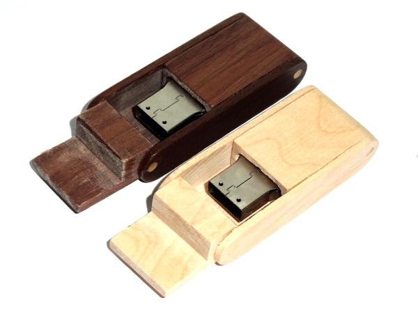 Новые оригинальные деревянные usb флешки