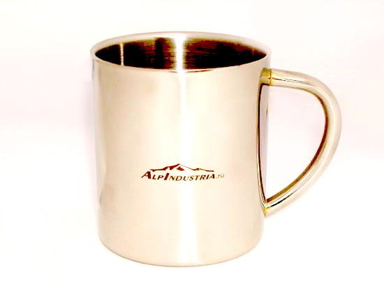 Кружки с логотипом Альпиндустрия