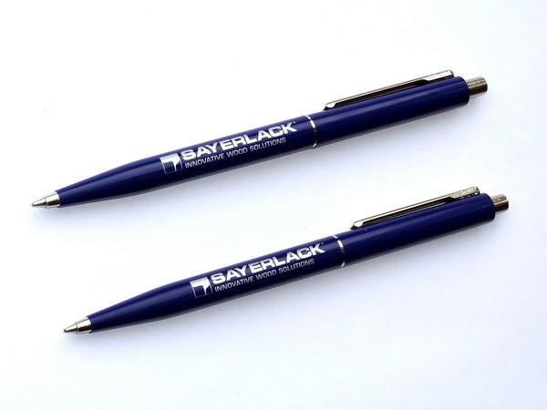 Ручки шариковые промо Senator Point Polished для дилеров.