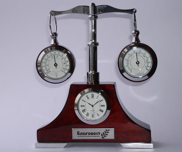 Оригинальные часы с логотипом