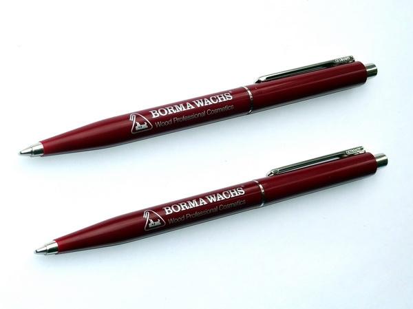 Классические недорогие ручки Senator Point Polished темно-красные.