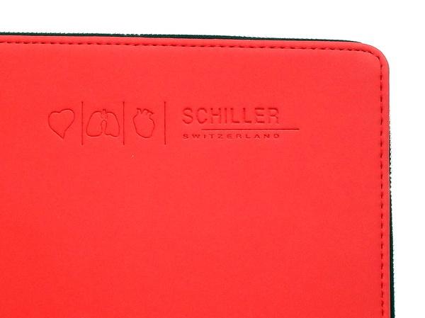 Фирменные папки Senator с логотипом швейцарской компании Schiller