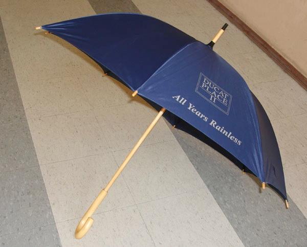 Классические зонты-трости с логотипом