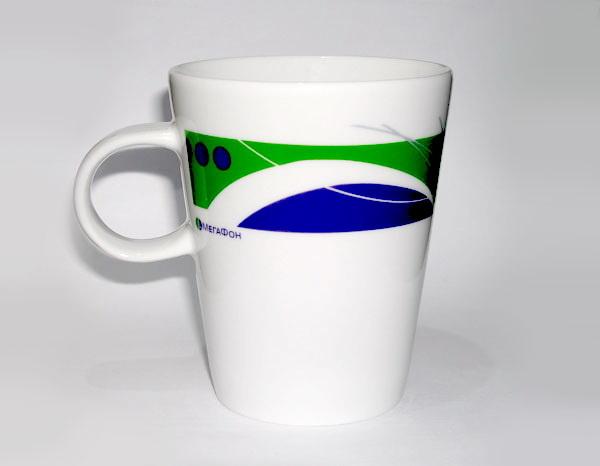 Кружки с логотипом Мегафон