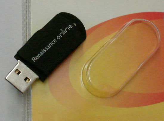 USB flash карты с логотипом Ренессанс онлайн
