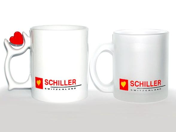 Рекламные кружки Shiller фирмы Rou Bill и Senator