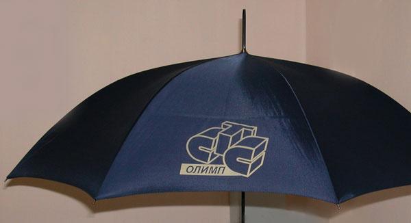Зонты с логотипом СТС