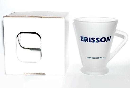 Кружки Senator оригинальные с логотипом Erisson