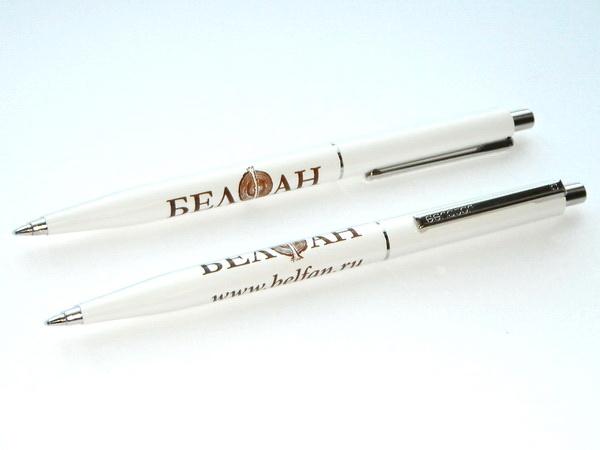 Ручки шариковые с логотипом для производственных компаний
