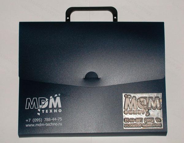 Пластиковые портфели с логотипом