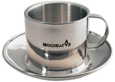 Чашка с блюдцем Мособлгаз