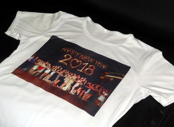 Промо футболки с сублимацией