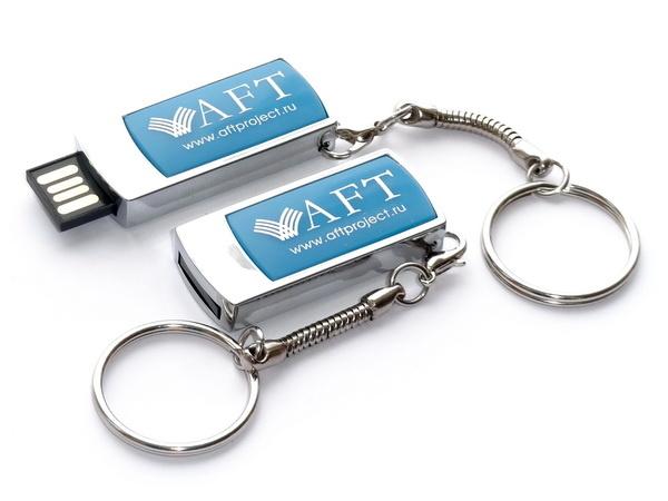 Usb флешки с логотипом AFT project
