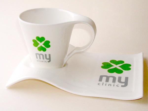 Кружки с логотипом для медицинских центров