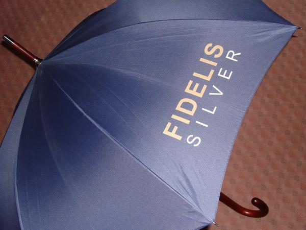 Зонт с логотипом для промо акций