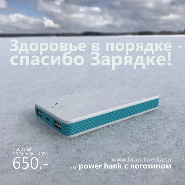 Зарядное устройство с логотипом