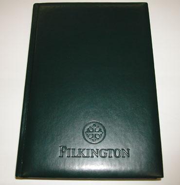 Ежедневник с логотипом Пилкингтон