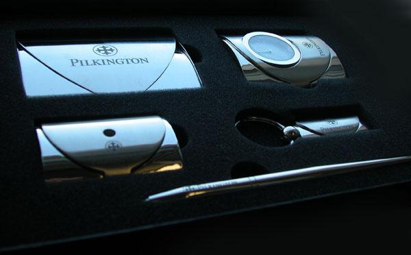 Корпоративный подарочный набор для Пилкингтон