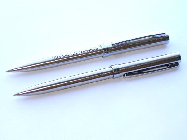 Ручки шариковые металлические Senator Delgado для университетов и академий