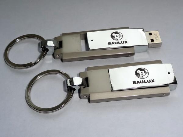 Флешки с логотипом Baulux