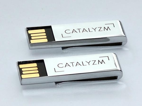 Флешки с логотипом Catalyzm