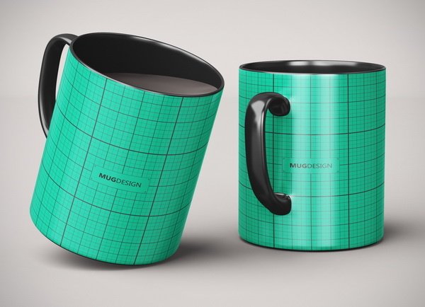 Дизайн промо кружек интернет-магазина
