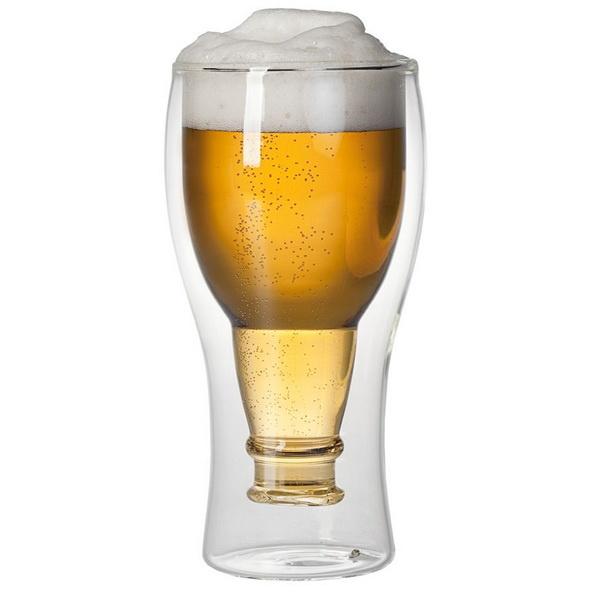 Оригинальный стакан для пива на 23 февраля в подарок