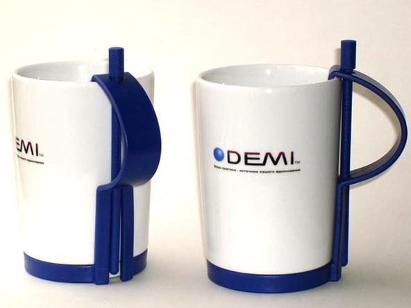 Кружки оригинальные с логотипом Demi