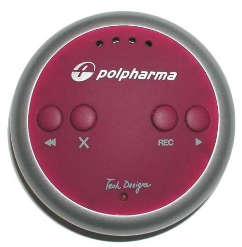 Диктофон с логотипом компании
