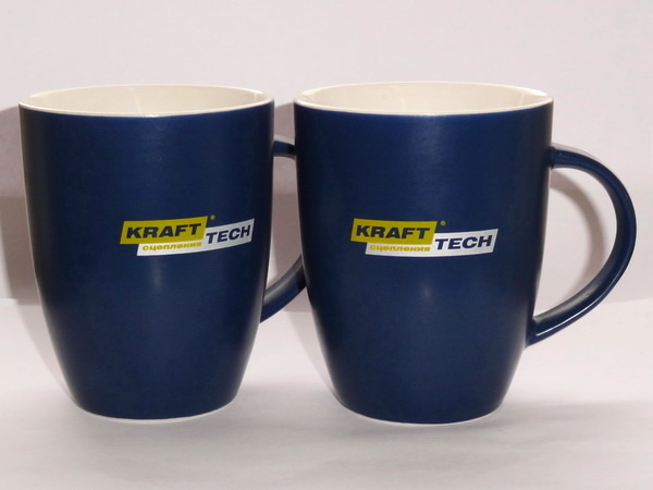 Кружки с логотипом Kraft Tech
