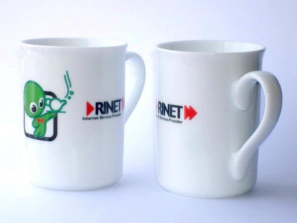 Кружки Senator Classic с логотипом Rinet