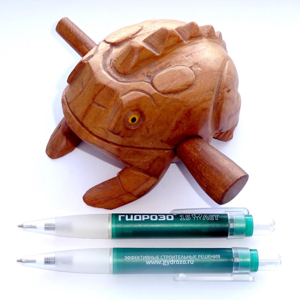 Толстые шариковые ручки Senator Big Pen Icy с логотипом компании заказчика